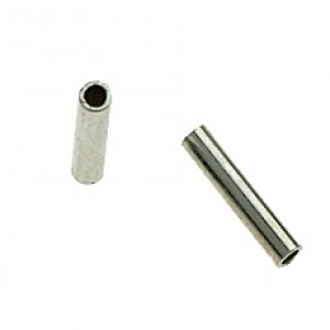 Sterling Silver 925 Round Cut Tube Outside D 2mm, wall 0.30mm, length 15mm